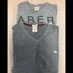 2 Abercrombie t-shirts.